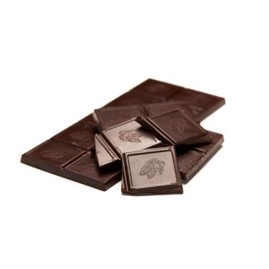 Mini-tablette de chocolat noir extrême 85%