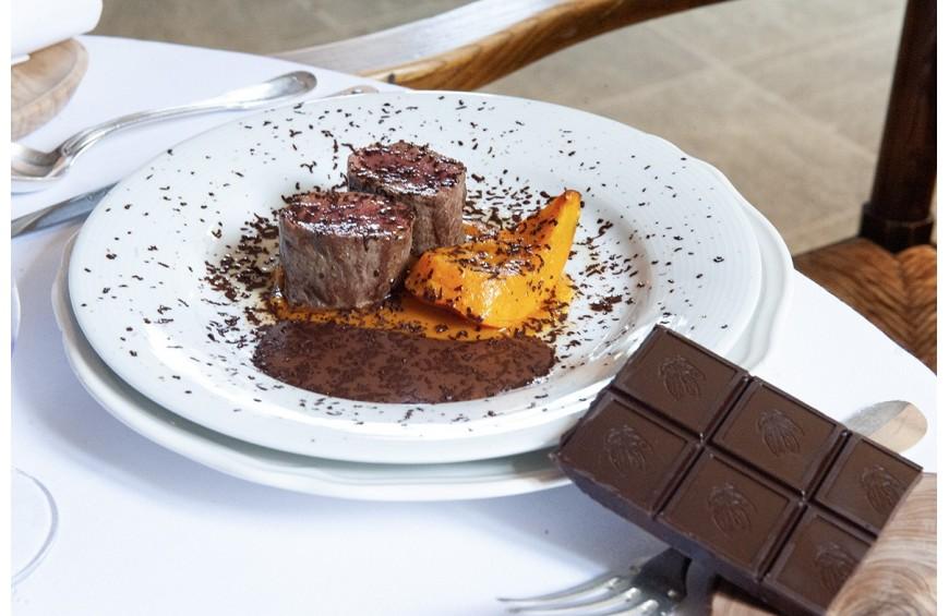 Recette de Fête de la Petite Maison de Cucuron avec Le Chocolat Castelain
