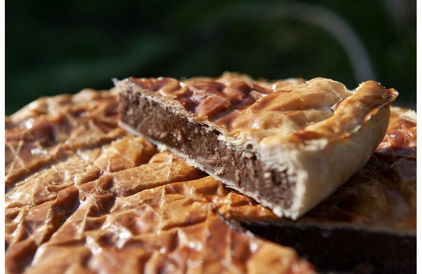 Galette des rois crème pâtissière au chocolat Castelain