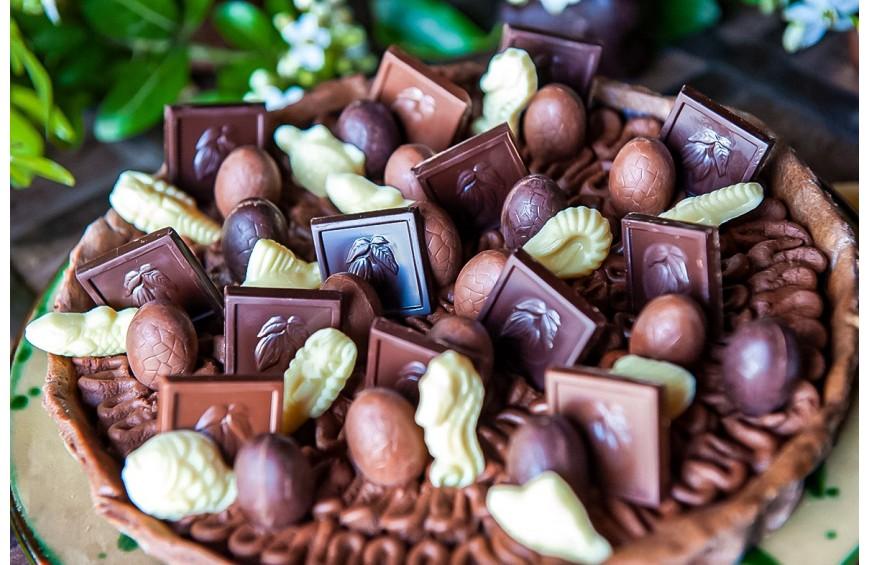 Tarte au chocolat Castelain pour Fêter Pâques