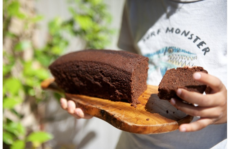 Gâteau au chocolat Castelain et au Miel de lavande de L'Abeille d'Esterel