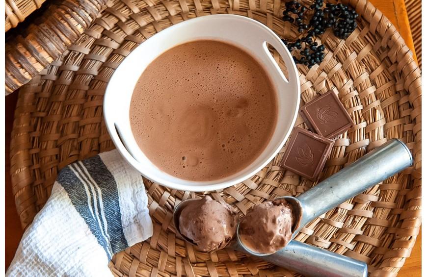 Soupe de chocolat au Lait Castelain par Cyril Lignac