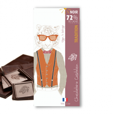 Assortiment - Chocolats noirs en vrac