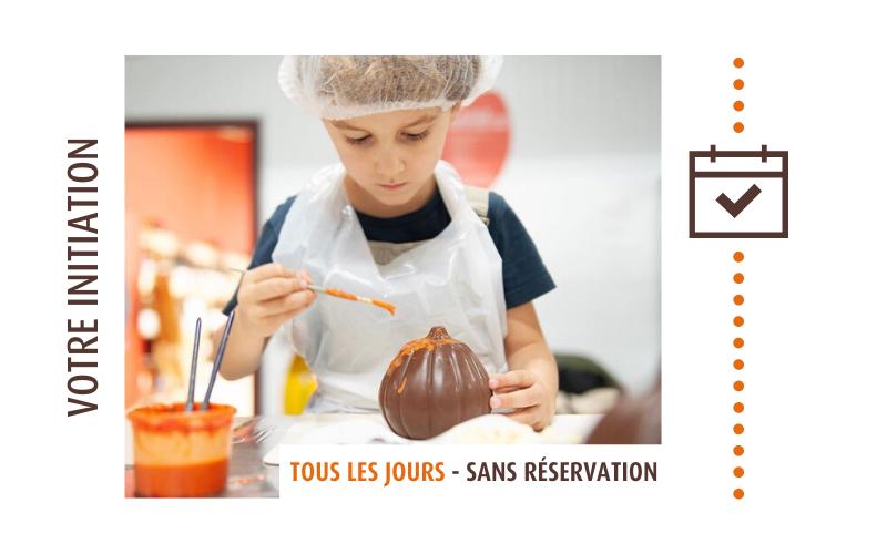 Initiation aux ateliers chocolats Castelain