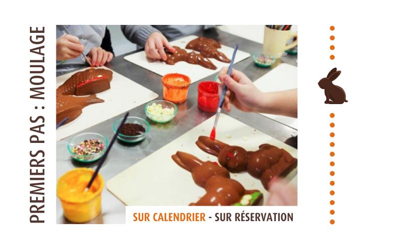 Ateliers moulage Chocolats Castelain
